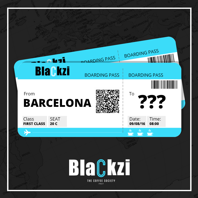 Blackzi - Billete de avión