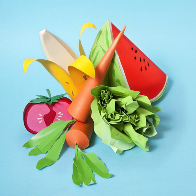 Paper-Craft-Sculptures-Of-Food-10